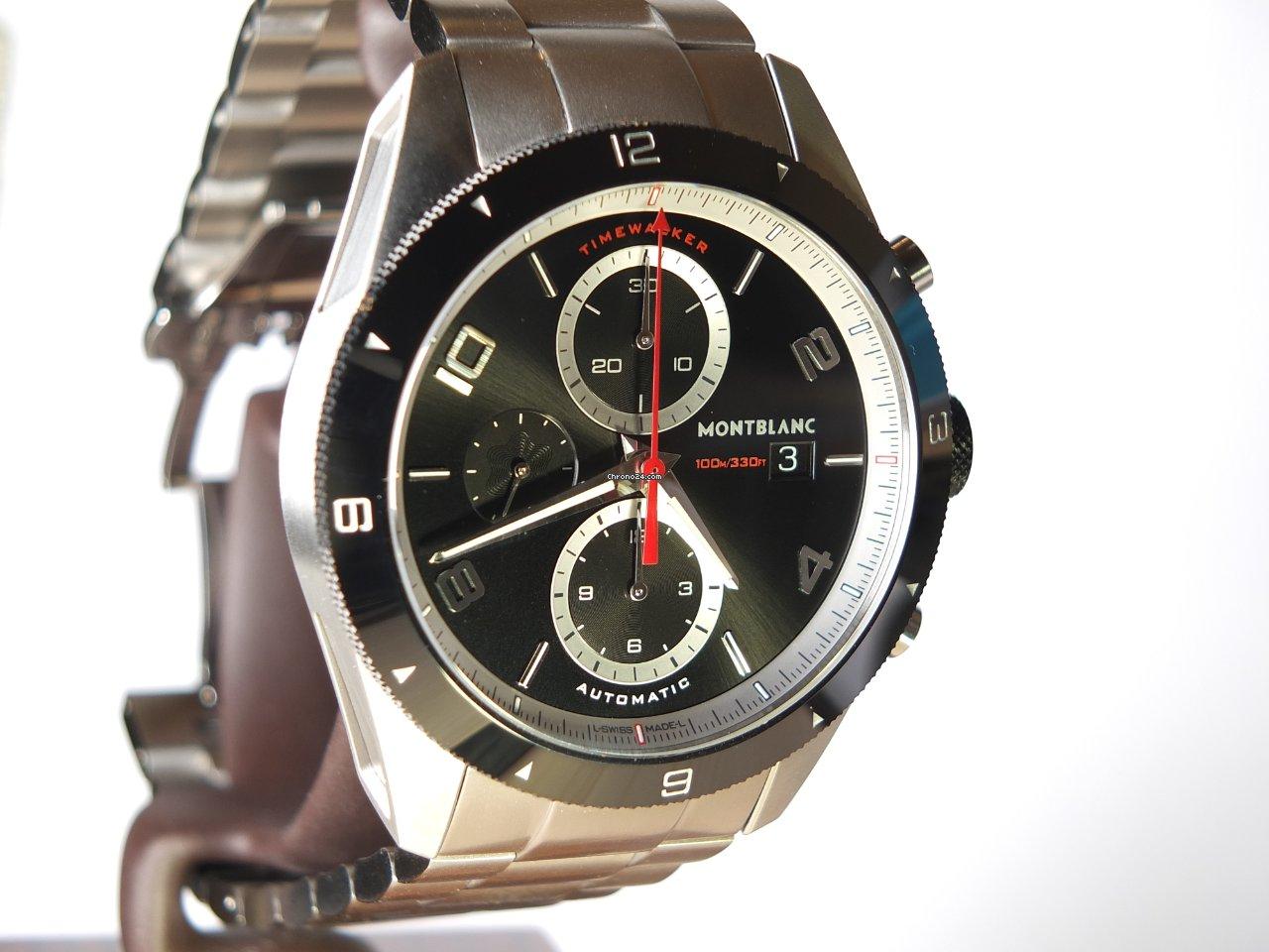 Montblanc Timewalker 116097 Montblanc Timewalker =2/2021- Neu Box & Papiere 2021 neu