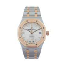 Audemars Piguet Royal Oak Selfwinding Gold/Steel 37mm Silver No numerals United States of America, Georgia, ATLANTA