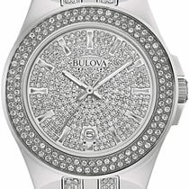 Bulova Crystal 96B235 Neu 32.5mm Quarz