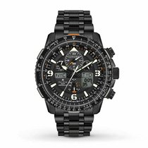 Citizen Promaster Sky Steel 46mm Black United States of America, New Jersey, Little Ferry