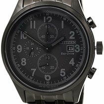 Citizen Steel 42mm Black United States of America, New Jersey, Little Ferry