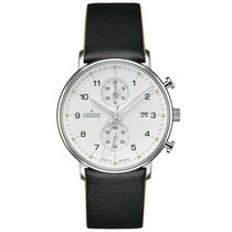 Junghans FORM C Steel 40mm Silver Arabic numerals United States of America, New Jersey, Little Ferry