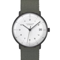Junghans max bill Automatic Steel 34mm White Arabic numerals United States of America, New Jersey, Little Ferry