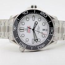 Omega Seamaster Diver 300 M Steel 42mm White No numerals