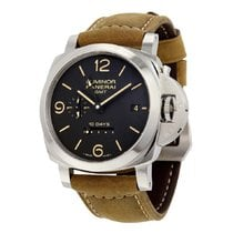 Panerai Luminor 1950 10 Days GMT Steel 44mm Black United States of America, New York, New York