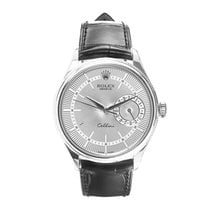 Rolex Cellini Date White gold 39mm Silver No numerals United States of America, New York, New York
