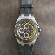 Audemars Piguet Titan Automatik Schwarz Keine Ziffern 42mm gebraucht Royal Oak Offshore Chronograph