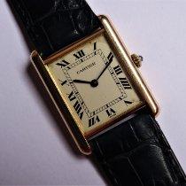 Cartier Gelbgold 24mm Quarz Tank Louis Cartier gebraucht
