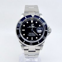 Rolex Submariner Date Steel 40mm Black No numerals United Kingdom, Rickmansworth