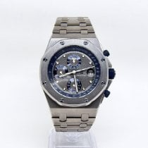 Audemars Piguet Royal Oak Offshore Chronograph Титан Синий