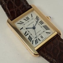 Cartier Tank Solo Rose gold 31mm Silver Roman numerals United States of America, Texas, Houston