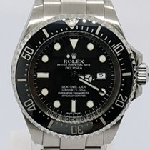 Rolex Sea-Dweller Deepsea Steel 44mm Black No numerals UAE, Sharjah