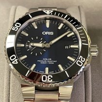 Oris Aquis Small Second Steel 45.5mm Blue No numerals United States of America, California, San Dimas