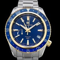 Seiko Grand Seiko Steel 44mm Blue United States of America, California, Burlingame
