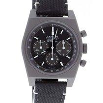 Zenith El Primero Chronomaster Titan 37mm Černá Bez čísel