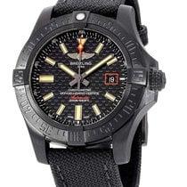 Breitling Avenger Blackbird Titanium 44mm Zwart Geen cijfers