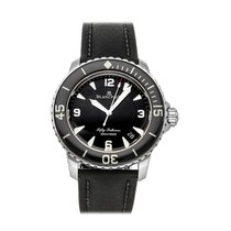 Blancpain Steel 45mm Automatic 5015-1130-52A pre-owned