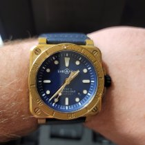 Bell & Ross Bronze Automatic Blue pre-owned BR 03