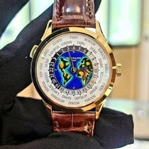 Patek Philippe World Time Yellow gold 38.5mm White Arabic numerals