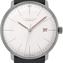 Junghans 027/4009.02 Stal 2021 max bill Automatic 38mm nowość