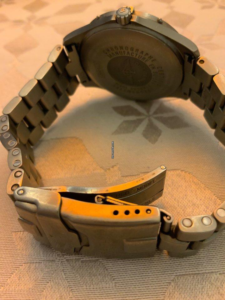 Breitling 124E 18mm Professional Armband Titan Glied Link Titan Aerospace E65362