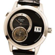 Glashütte Original PanoMaticTourbillon White gold 38.4mm Black No numerals