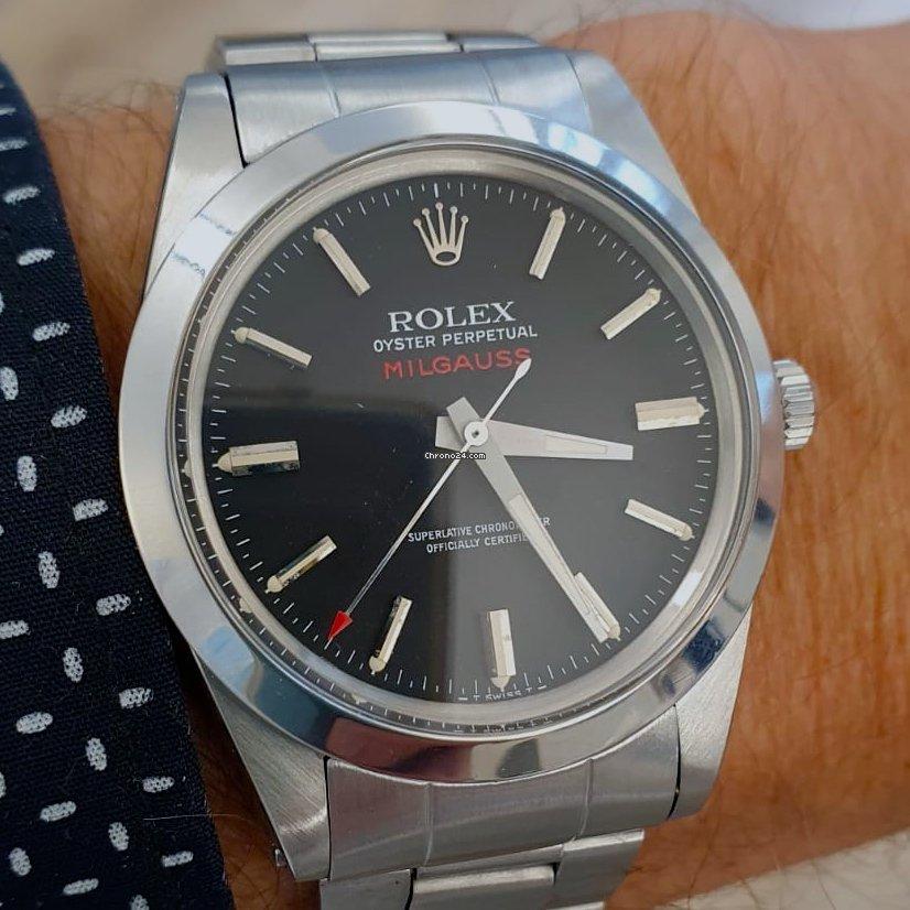 Rolex Milgauss 1019 Milgauss Zifferblatt Schwarz 1968 1968 pre-owned