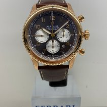 Breitling Navitimer 8 Rose gold 43mm Bronze Arabic numerals