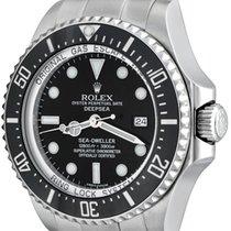Rolex Sea-Dweller Deepsea Acero 43mm Negro Sin cifras