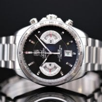 TAG Heuer Grand Carrera Steel 43mm Black No numerals United Kingdom, Whitby- North Yorkshire
