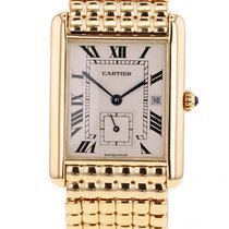Cartier Tank (submodel) Yellow gold 23mm