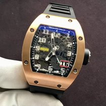 Richard Mille RM 029 Rose gold 48mm Transparent Arabic numerals
