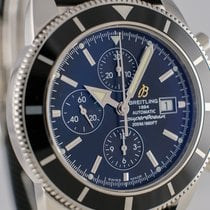 Breitling Superocean Heritage Chronograph Steel 44mm Black