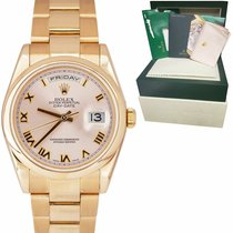 Rolex Or rose Day-Date 36 36mm occasion