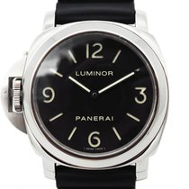Panerai Luminor Base Stål 44mm Svart Arabisk