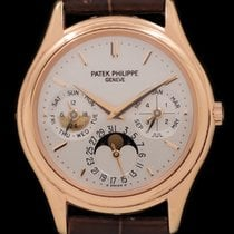 Patek Philippe Perpetual Calendar Rose gold 36mmmm Silver United States of America, New York, New York