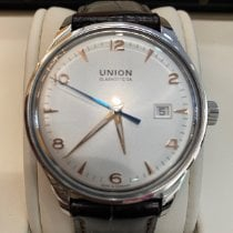 Union Glashütte Noramis Date Steel 40,00mm Silver Arabic numerals