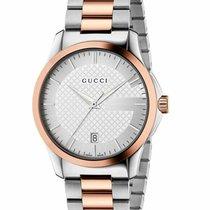 Gucci Steel 38mm Quartz YA126447 new