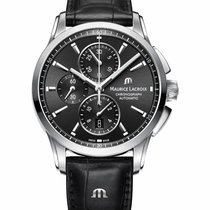 Maurice Lacroix Pontos Chronographe new 2021 Automatic Chronograph Watch with original box and original papers PT6388-SS001-330-1