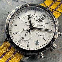 Tissot Quickster Steel 42mm White Arabic numerals