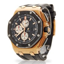 Audemars Piguet Royal Oak Offshore Chronograph Rose gold 44mm Black No numerals United Kingdom, London
