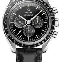 Omega Platina Ruční natahování Černá nové Speedmaster Professional Moonwatch