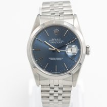 Rolex Datejust Ocel 36mm Modrá