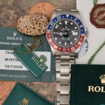 Rolex GMT-Master new 1983 Automatic Watch with original box and original papers 16750