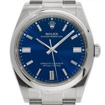 Rolex Oyster Perpetual 36 Otel 36mm Albastru