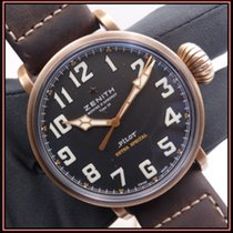 Zenith Pilot Type 20 Extra Special usados 45mm Negro Piel