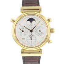 IWC Da Vinci Perpetual Calendar 3751 Πολύ καλό Κίτρινο χρυσό 39mm Αυτόματη
