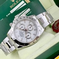 Rolex pre-owned Automatic 40mm White Sapphire crystal 10 ATM