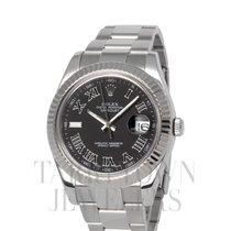 Rolex Datejust II Steel 41mm Grey Roman numerals United States of America, New York, Hartsdale