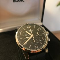 Montblanc pre-owned Automatic 43mm Black Sapphire crystal 3 ATM
